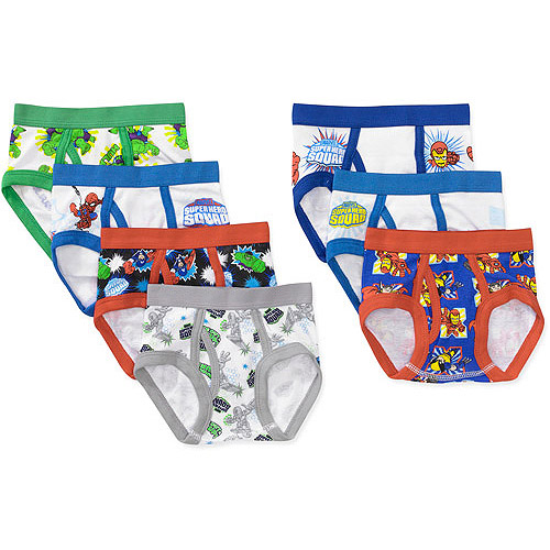 Marvel Heroes - toddler boys 7 piece underwear set