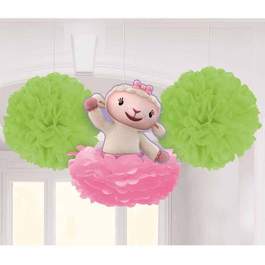 Disney Doc McStuffins Fluffy Decorations