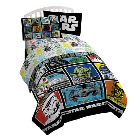 Star Rocket Twin Comforter - Star Wars Classic Millennium Falcon 86