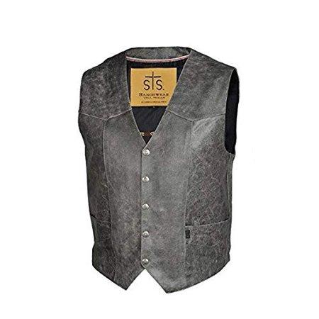 STS Ranchwear Men's The Chisum Cowboy Vest - STS3642 (Large) (Diy Cowboy Vest)