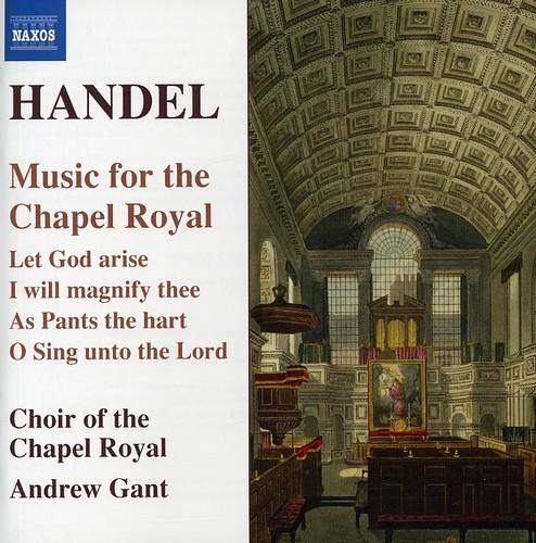 G.F. Handel - Handel: Music for the Chapel Royal [CD]