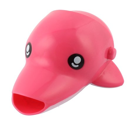 Kitchen Bath Silicone Dolphin Shaped Detachable Basin Tap Faucet Extender (Tap Silicone)
