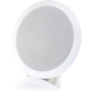 C2G 6in Ceiling Speaker - White