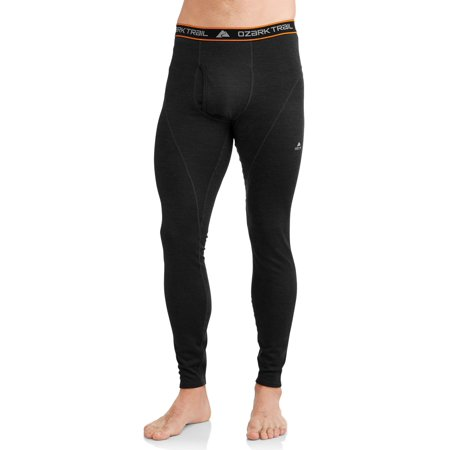 Ozark Trail Men's Wool Blend Thermal Baselayer Pant
