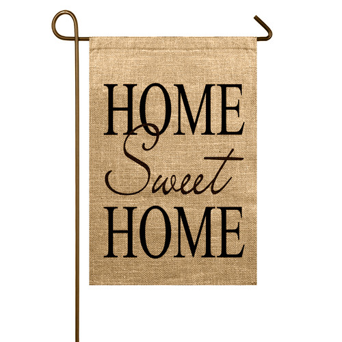 TheWatsonShop Home Sweet Home Garden Flag