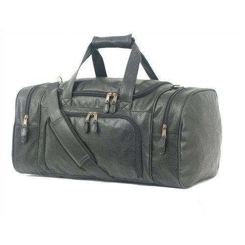 Mercury Luggage Highland II Series 21'' Leather Carry-On Duffel