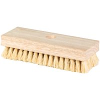 "DQB Industries 8"" Acid Scrub Brush with Tapered Handle Hole"