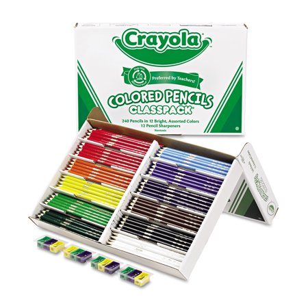 Crayola Classpack of Colored Pencils, 240-Count