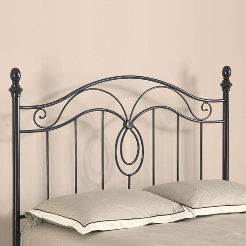 Coaster Queen Iron Headboard, Black by Coaster of America