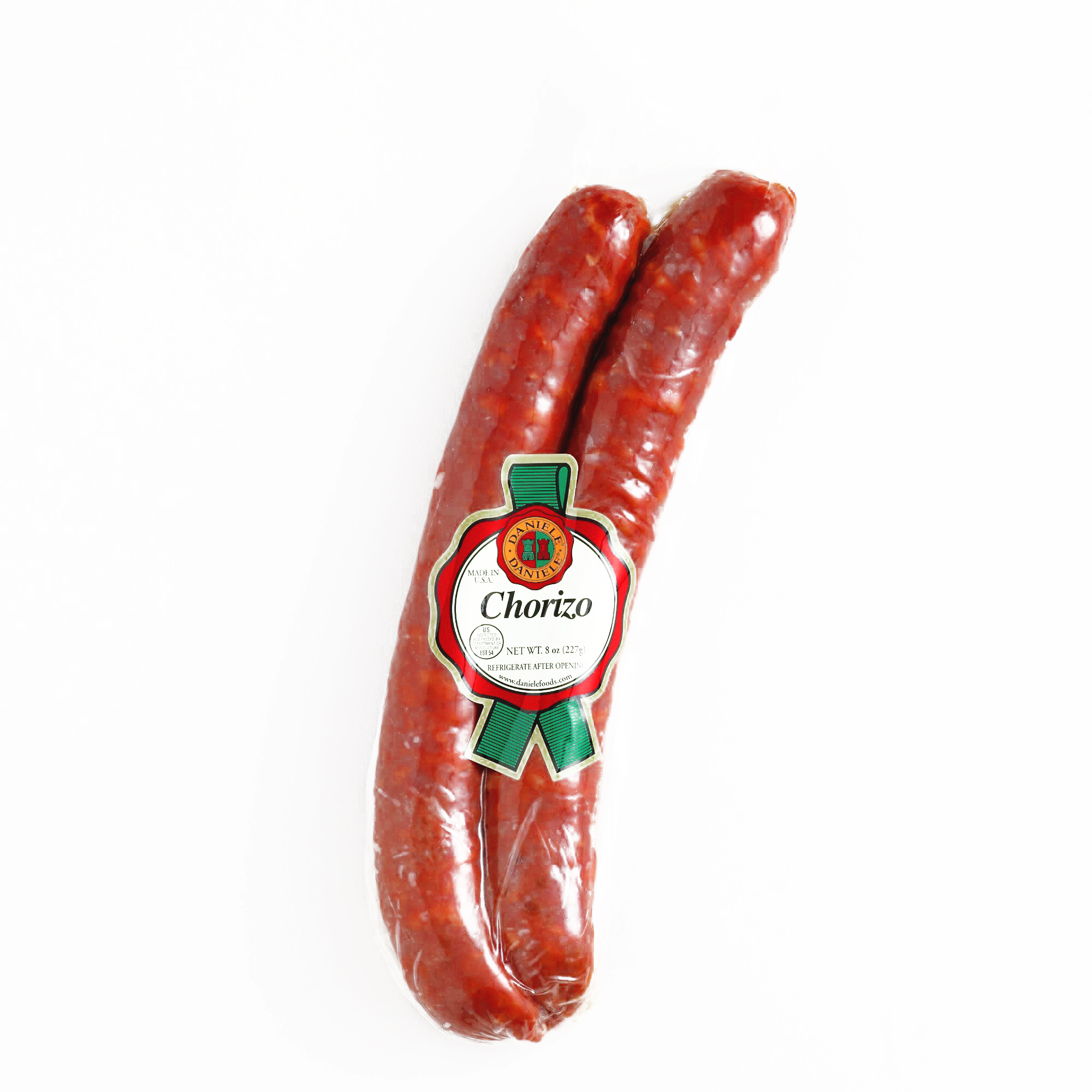 Daniele Chorizo Chub \t8 oz each (1 Item Per Order, not per case) by
