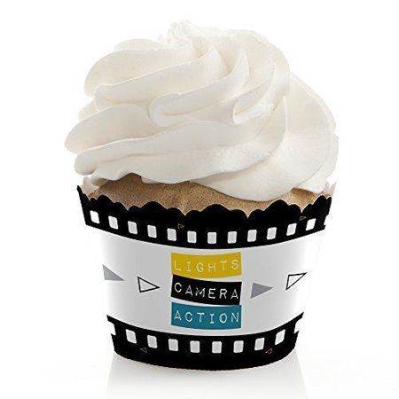 Movie - Hollywood Party Cupcake Wrappers - Set of - Hollywood Part