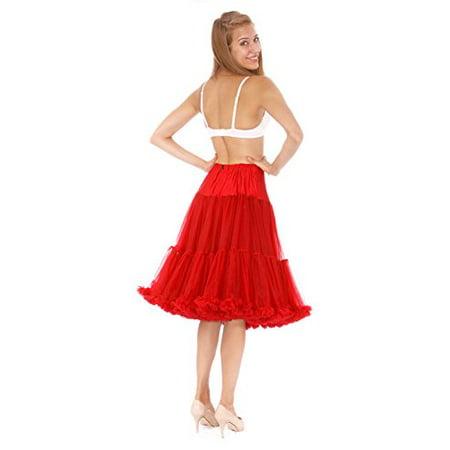 Malco Modes Luxury Vintage Tea Length Crinoline Petticoat Skirt