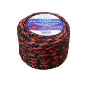 T.W. Evans Cordage 31-122 Truck Rope, 270 lb Working Load Limit, 100 ft L, 3/8 in Dia, Polypropylene