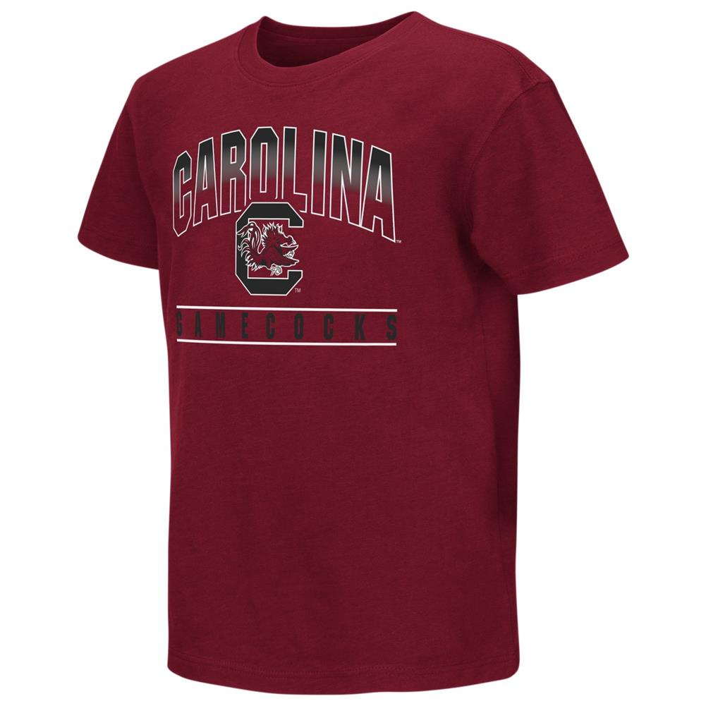 South Carolina Gamecocks Youth Golden Boy Short Sleeve Tee