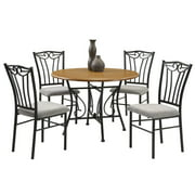 Heritage 5-Pc Wood and Metal Dinette