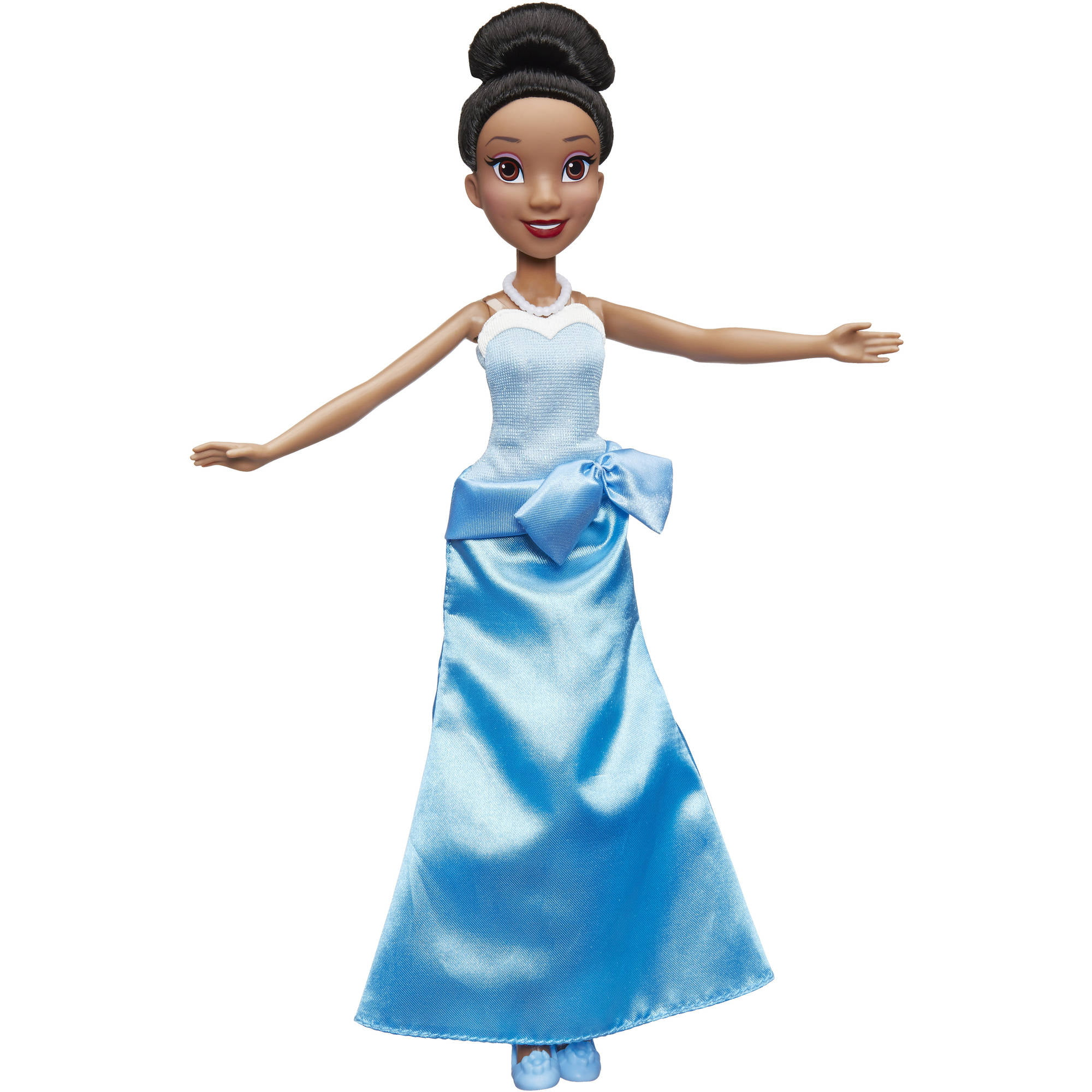 Disney Princess Tiana in Blue Ball Gown - Walmart.com