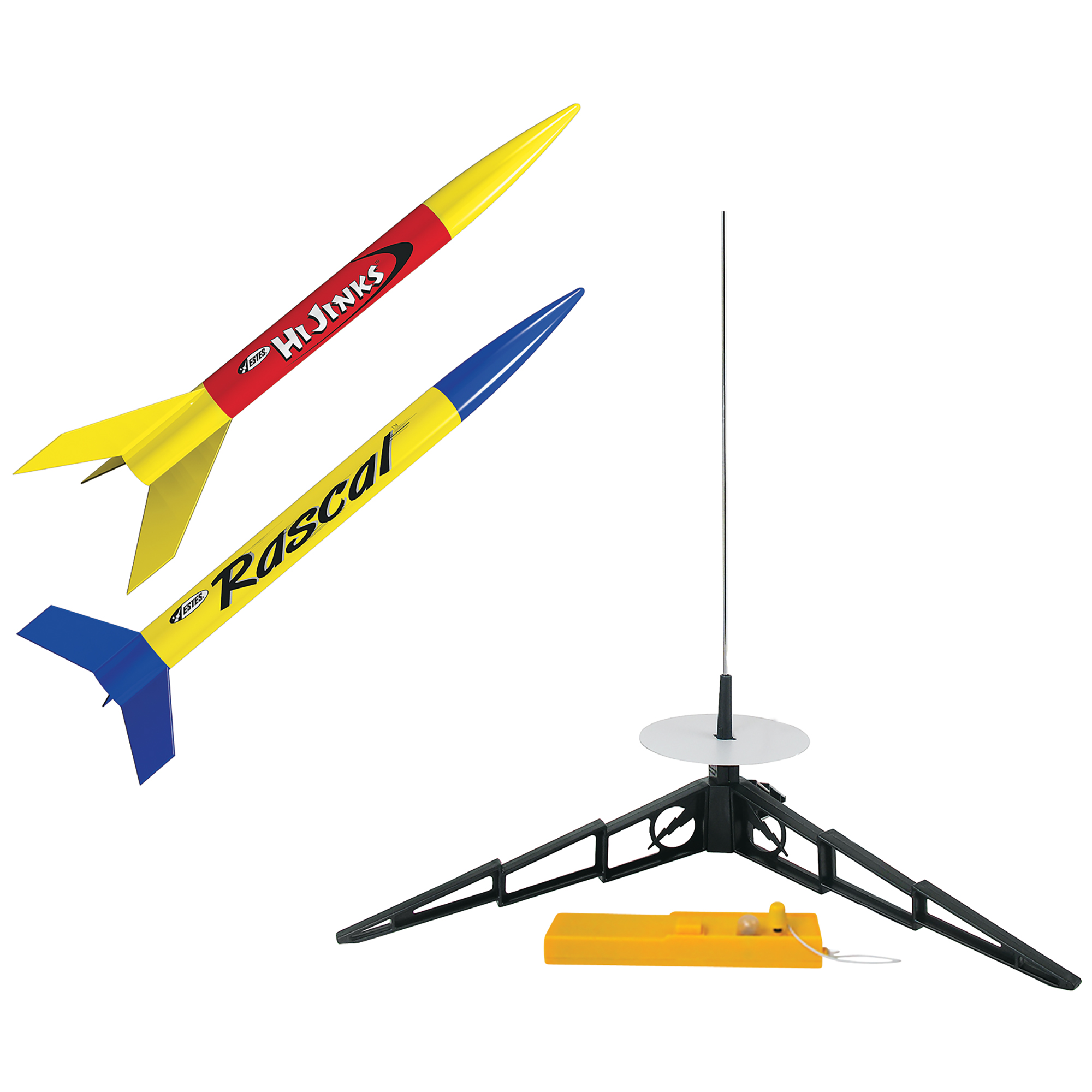 Estes Rascal HiJinks Flying Model Rocket Launch Set by Estes-Cox Corp.