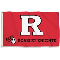 BSI NCAA College Rutgers Scarlet Knights 3 X 5 Foot Flag with Grommets