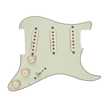 Fender Standard Stratocaster Pickguard (Fender Strat Stratocaster Vintage Noiseless Prewired Loaded Pickguard MG/AW)