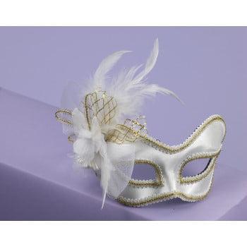 Satin Mask (MASK W/GLASS.WHT SATIN)