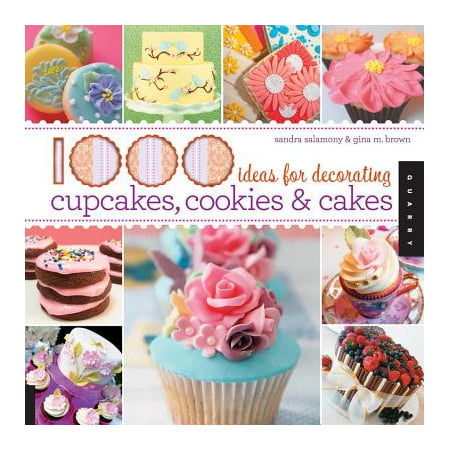 1000 Ideas for Decorating Cupcakes, Cookies & Cakes / Sandra Salamony & Gina M. - Easy Cupcake Decorating Ideas For Halloween