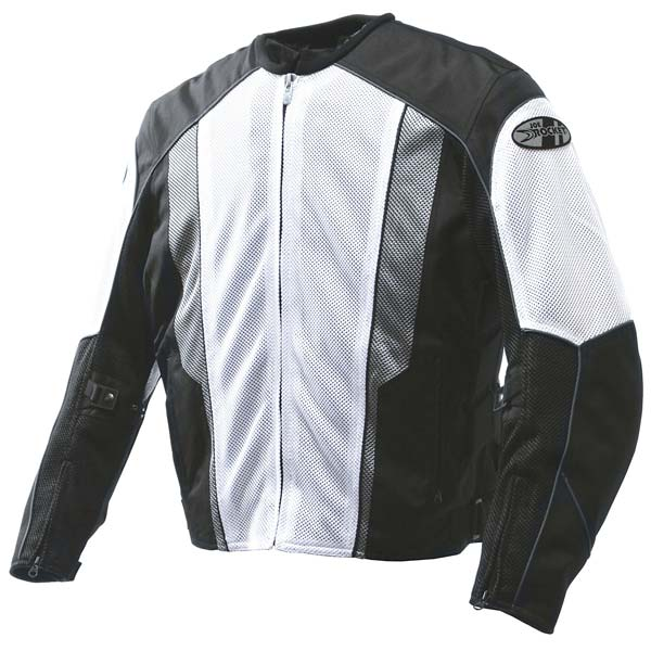 Joe Rocket Phoenix 5.0 Mesh Jacket White/Black