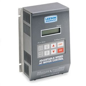 Leeson Single Phase to Three Phase Inverter 1.5 hp 230V #
