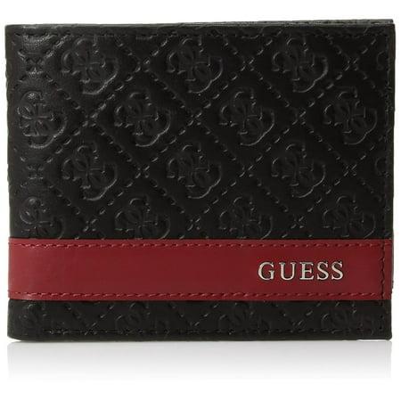 Guess Men's Mesa Id Bi-Fold Wallet Guess Designer Wallet