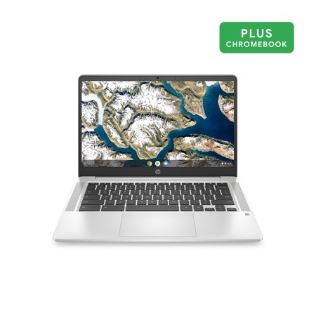 HP 14u0022 Pentium 4GB/64GB Chromebook, 14u0022 HD Display, Intel Pentium Silver N5000, 4GB RAM, 64GB eMMC, Intel UHD Graphics 605, 14a-na0031wm