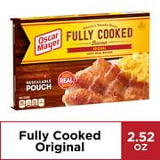 Oscar Mayer Original Fully Cooked Bacon, 2.52 oz Box