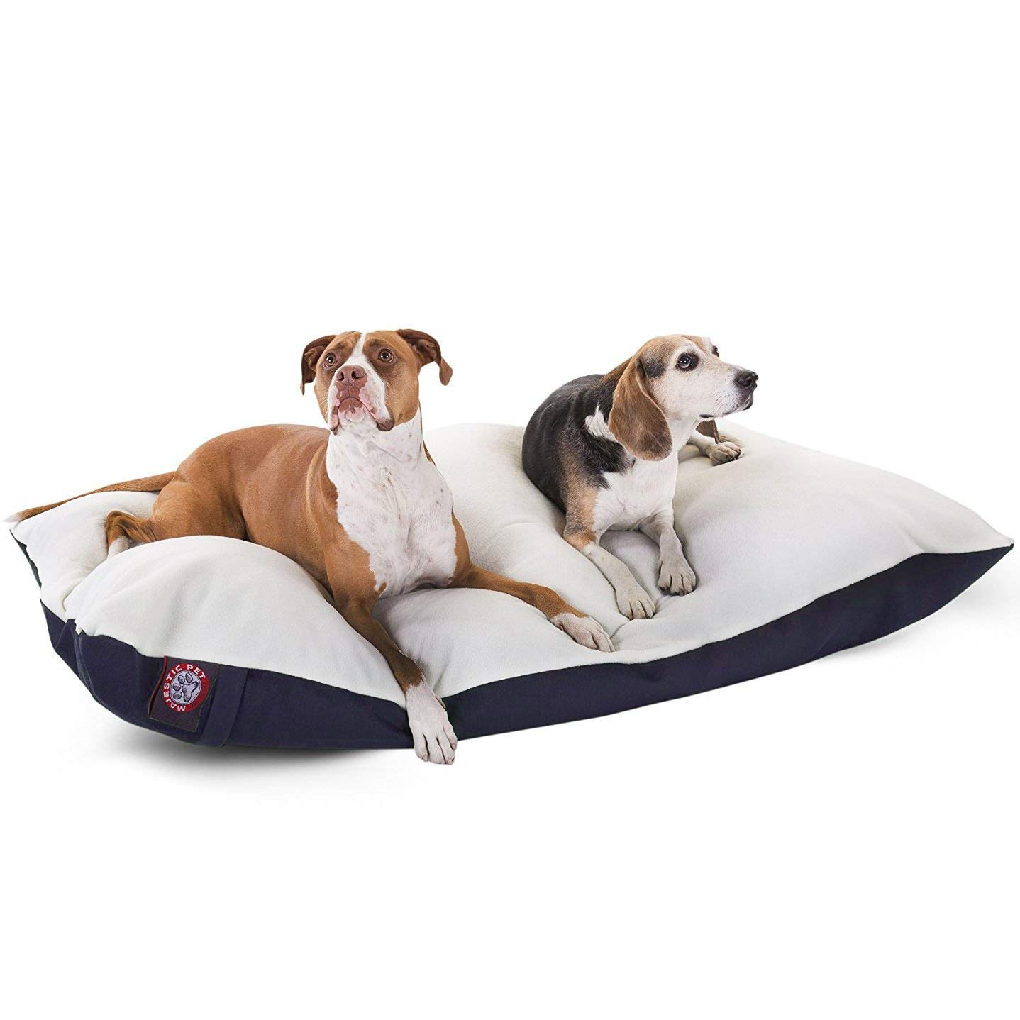 Extra Large 42x60 Majestic Pet Rectangle Pet Bed Removable Cover Multiple Colors