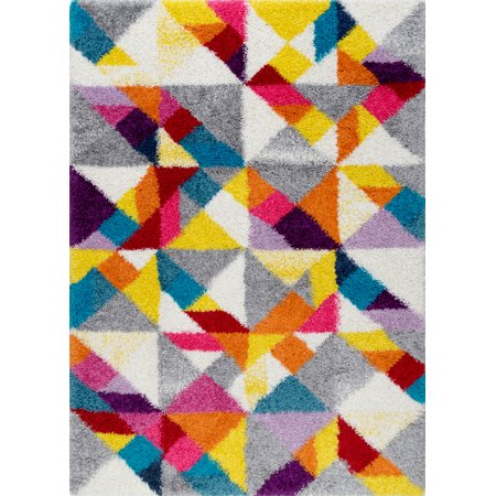 nuLOOM Deedee Mosaic Shaggy Area Rug ()