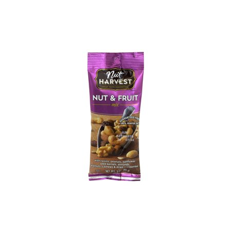Fruit Nut Mix (NUT HARVEST Nut & Fruit Mix, 2.25 oz, 8 Pack)