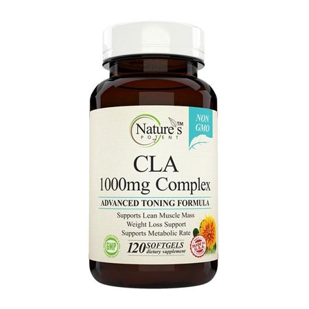 Natures Potent    Cla 1000Mg   Highest Potency Non Gmo