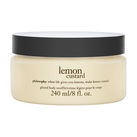 - Philosophy Lemon Custard Glazed Body Souffle, 8 Oz