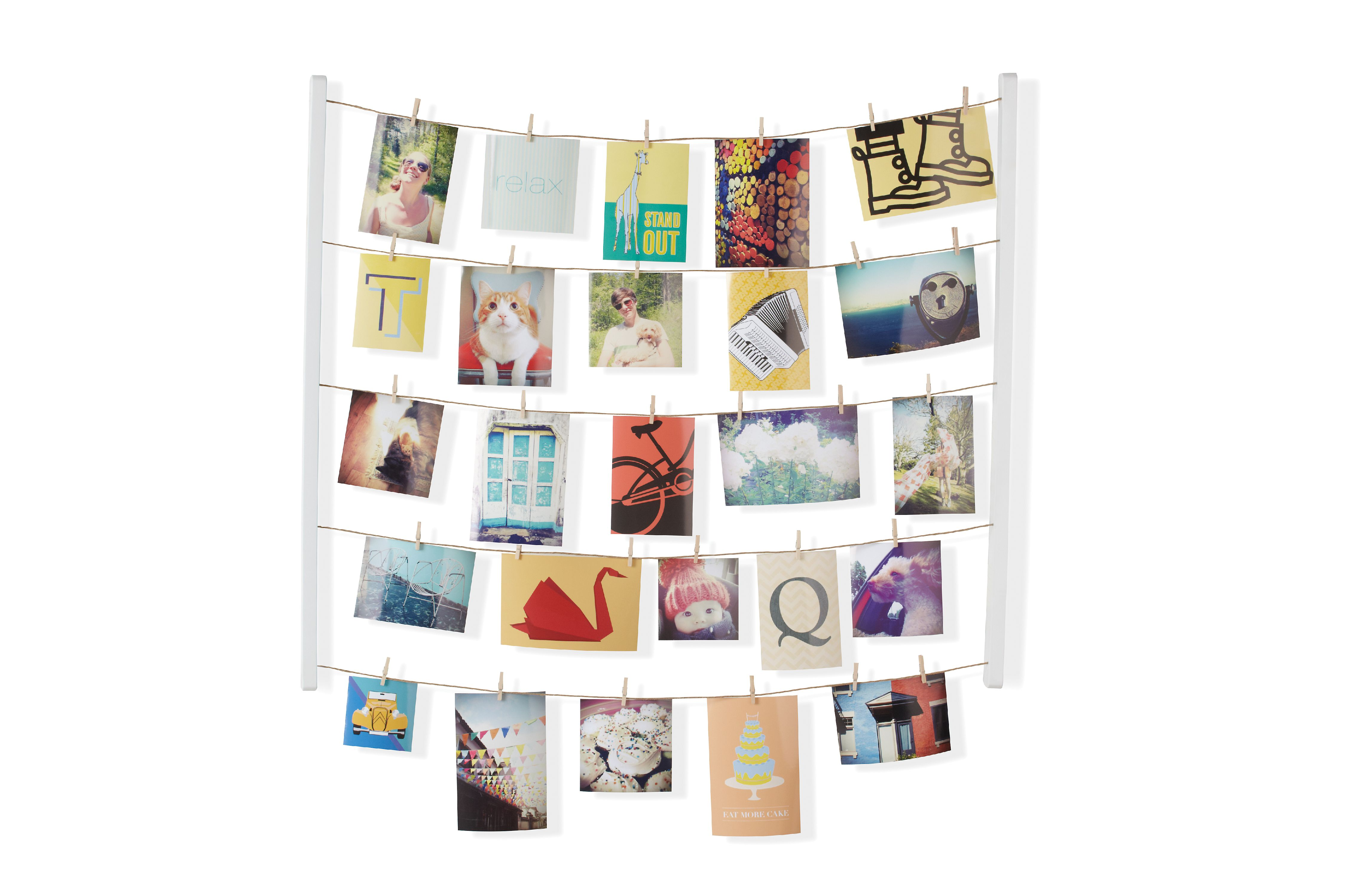 Umbra Hangit Photo Display DIY Picture Frames Collage Set Includes Picture Hanging Wire... by Umbra
