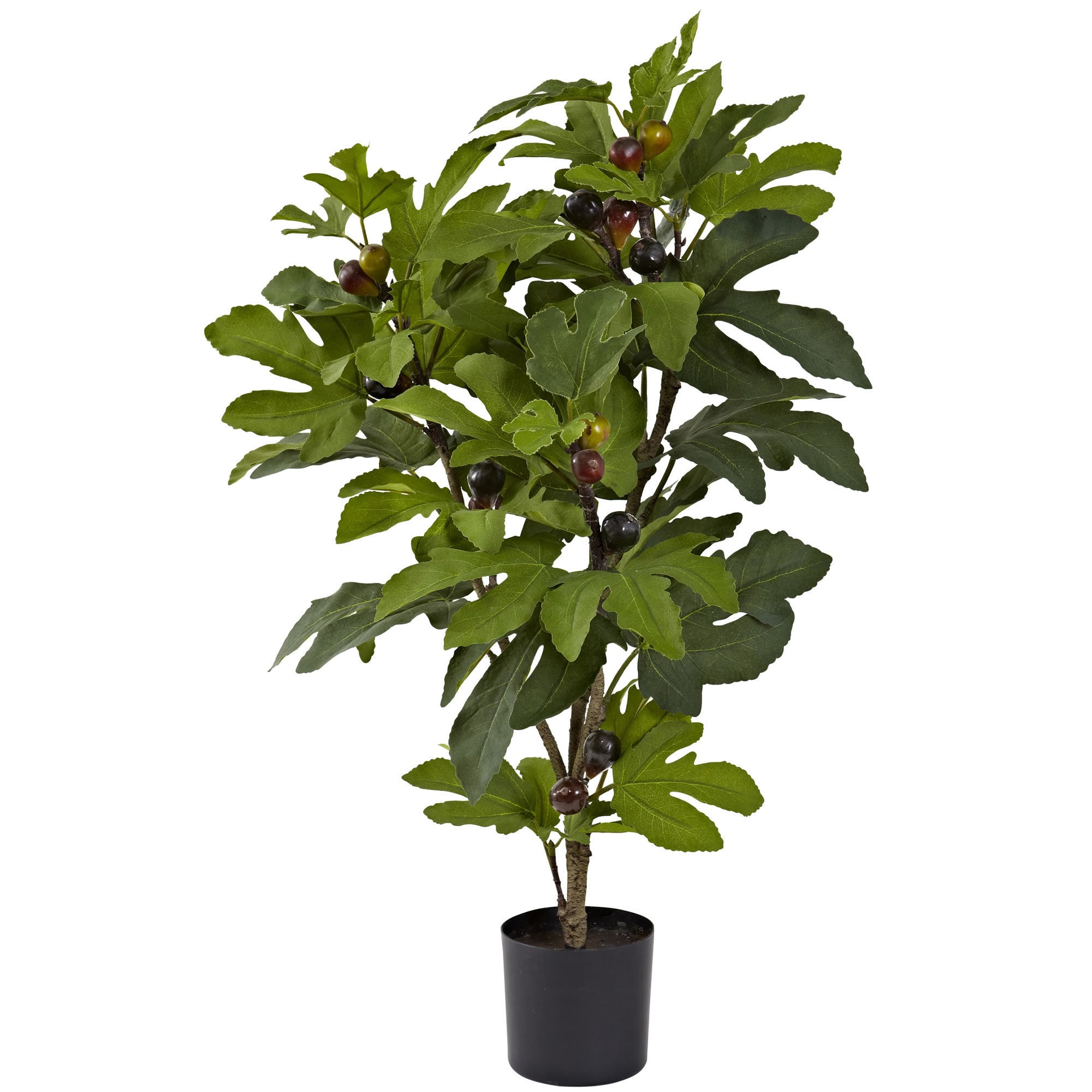 Nearly Natural 32-inch Silk Fig Tree