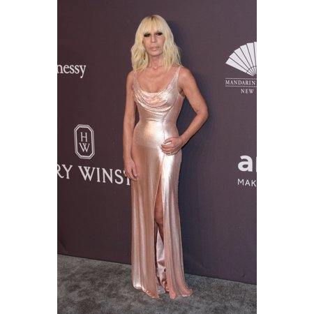 Donatella Versace At Arrivals For 19Th Annual Amfar New York Gala Cipriani Wall Street New York Ny February 8 2017 Photo By RcfEverett Collection Celebrity