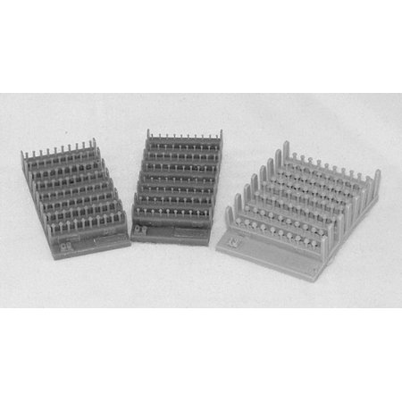 Plus Model 1:35 Bolts and Nuts 1.3 mm Resin Diorama Accessory #410