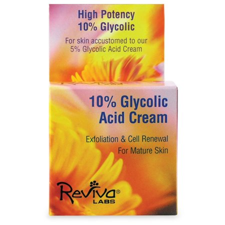 10% Glycolic Acid Night Cream Reviva 1.5 oz Cream