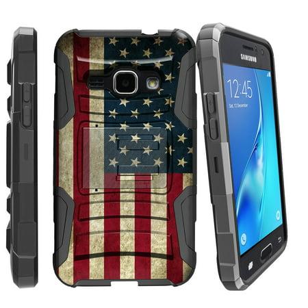 Case for Samsung Galaxy Grand Prime | Grand Prime Hybrid Case  [ Clip Armor ] Heavy Duty Case with Belt Clip & Kickstand Unique Collection