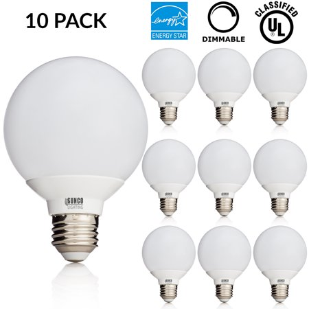 10 pack ul energy star listed 6w dimmable g25 led bulb 40w 10 pack ul energy star listed 6w dimmable g25 led bulb mozeypictures Images