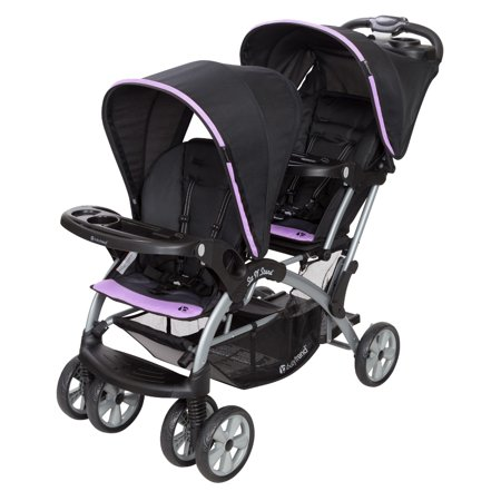 Baby Trend Sit N' Stand® Double  Optic Violet by Baby Trend