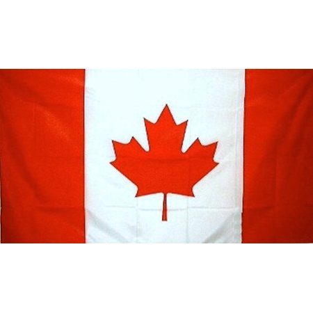 CANADIAN NATIONAL FLAG OF CANADA 5ft x 3ft MAPLE LEAF QUALITY FLAG POLYESTER There Maple Leaf Canadian Flag