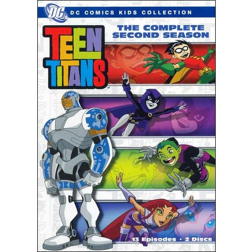 Teen Titans: The Complete Second Season (Full Frame)