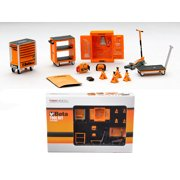 Beta Garage Mechanic Accessory Tools 13pc Tool Kit Set For 1/43 Scale Diecast Model Cars by True Scale Miniatures