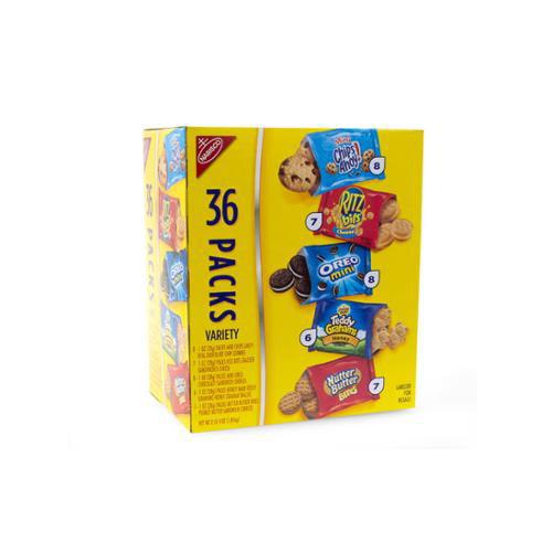 Nabisco Cookie/cracker 40 ct. Variety Pack