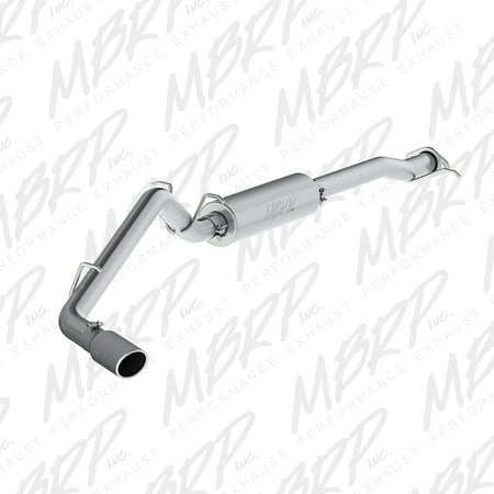 MBRP Black Series Cat Back Exhaust System - S5088BLK