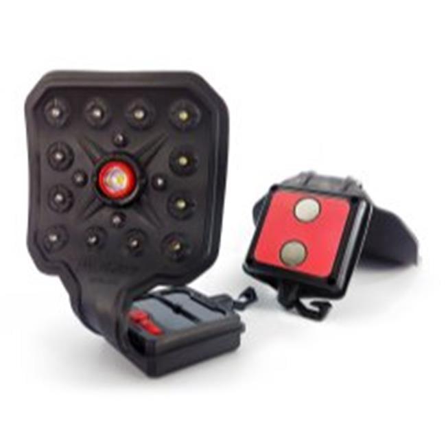 ISN STR00346 Striker Flexit Solar Flashlight - Red - image 6 de 6