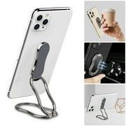 Phone Ring Holder Finger Kickstand, EEEkit Foldable Ring Stand, 360¡« Rotation Ring Cell Phone Back Grip for Magnetic Car Mount Compatible with iPhone, Samsung Galaxy, Other Smartphones, Tablets